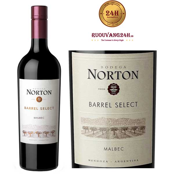 Rượu Vang Norton Barrel Select Malbec