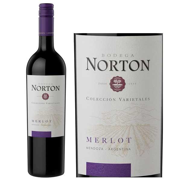 Rượu Vang Norton Coleccion Merlot