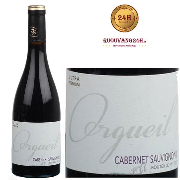 Rượu Vang Orgueil Cabernet Sauvignon