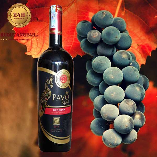 Rượu Vang Pavo Real Cabernet Sauvignon Reserva
