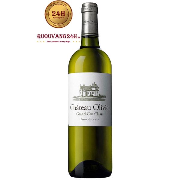 Rượu Vang Pháp Chateau Olivier Blanc