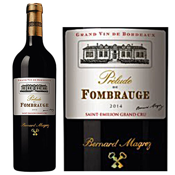 Rượu Vang Prelude de Fombrauge Saint Emilion Grand Cru