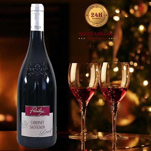 Rượu Vang Privilege de Drouet Cabernet Sauvignon