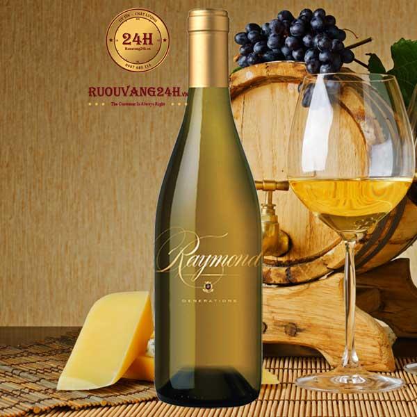 Rượu Vang Raymond Generations Icon Wine Chardonnay