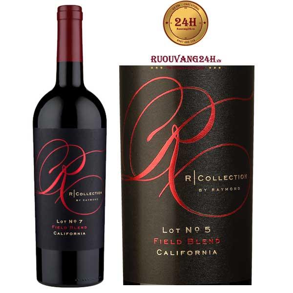 Rượu Vang Raymond R Collection Filed Blend
