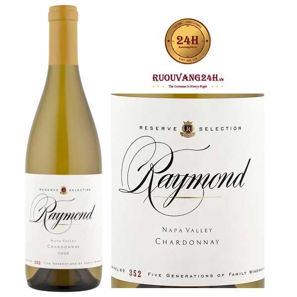 Rượu Vang Raymond Reserve Selection Collection Chardonnay