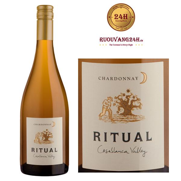 Rượu Vang Ritual Chardonnay