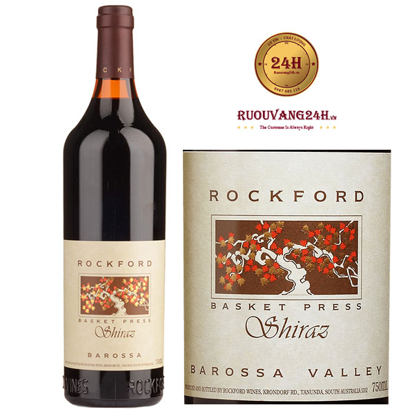 Rượu Vang Rockford Basket Press Shiraz