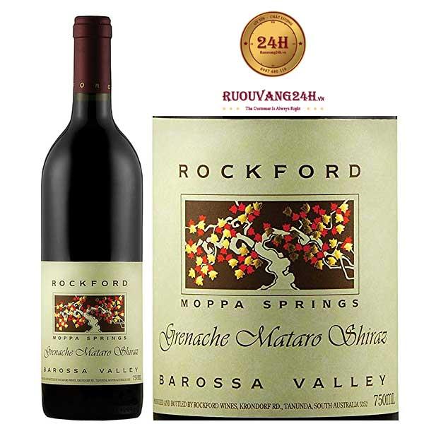 Rượu Vang Rockford Moppa Springs