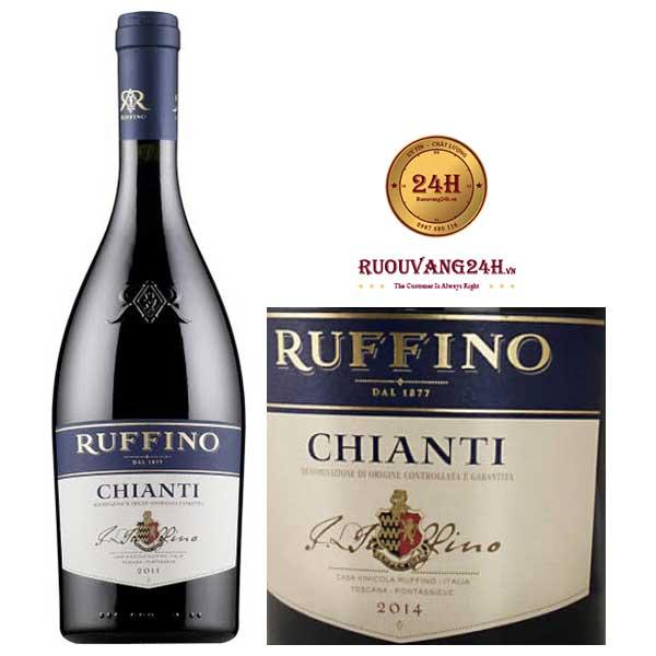 Rượu Vang Ruffino Chianti Sangiovese Blend