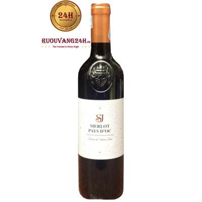 Rượu Vang SJ Merlot Pays D'OC IGP