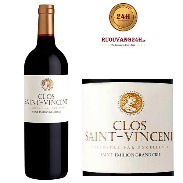 Rượu Vang Saint Vincent
