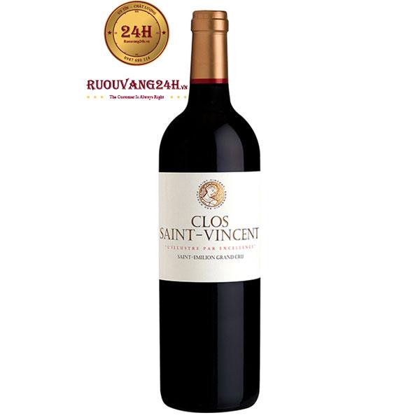 Rượu Vang Clos Saint Vincent Grand Cru