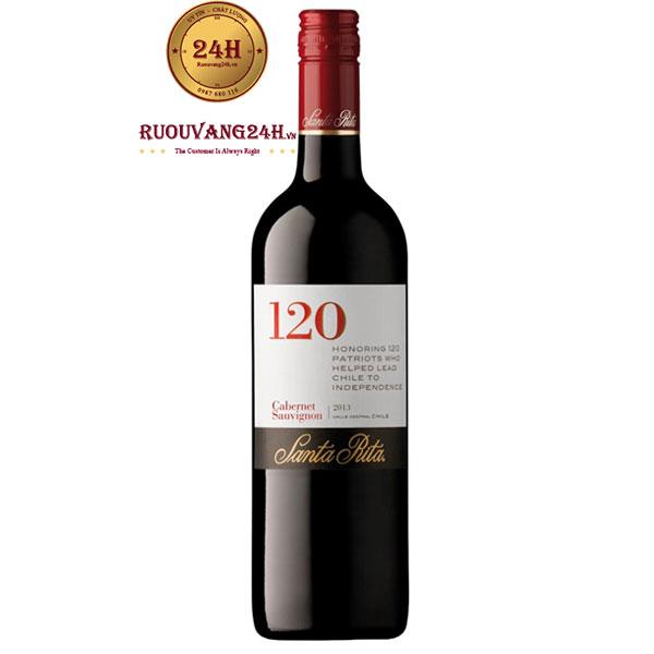 Rượu Vang Santa Rita 120 Cabernet Sauvignon