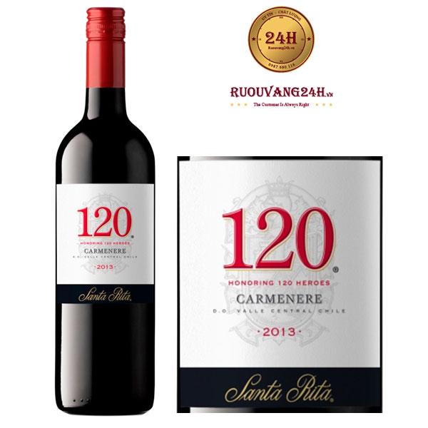 Rượu Vang Santa Rita 120 Carmenere