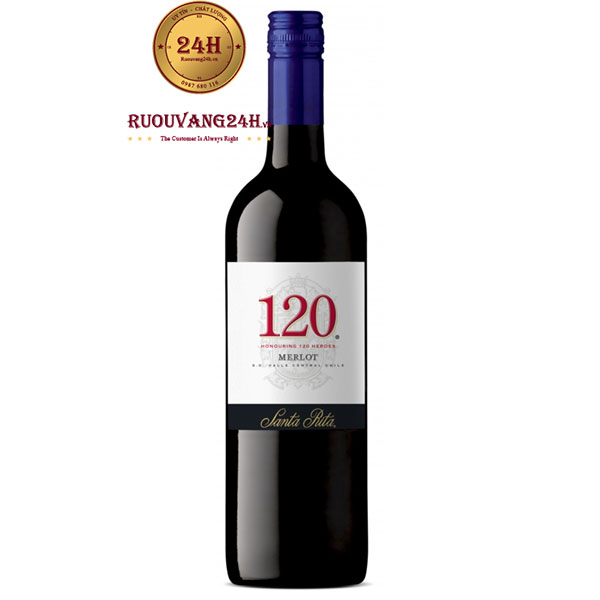 Rượu Vang Santa Rita 120 Merlot