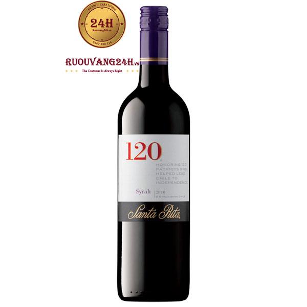 Rượu Vang Chile Santa Rita 120 Syrah