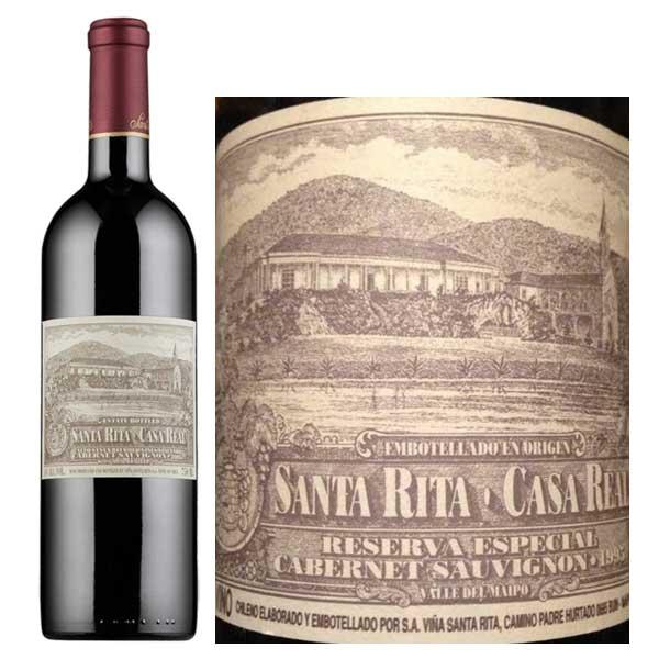 Rượu Vang Santa Rita Casa Real