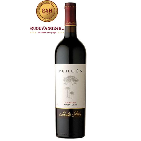 Rượu Vang Chile Santa Rita Pehuen
