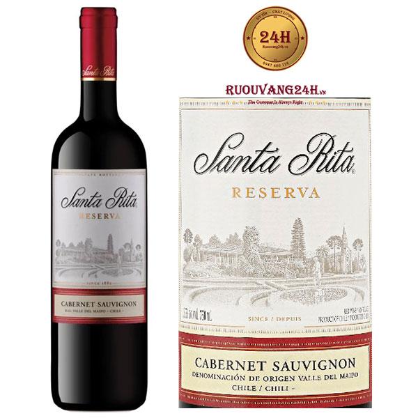 Rượu Vang Santa Rita Reserva Cabernet Sauvignon