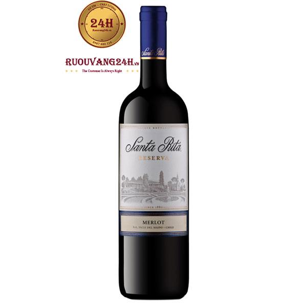 Rượu Vang Santa Rita Reserva Merlot