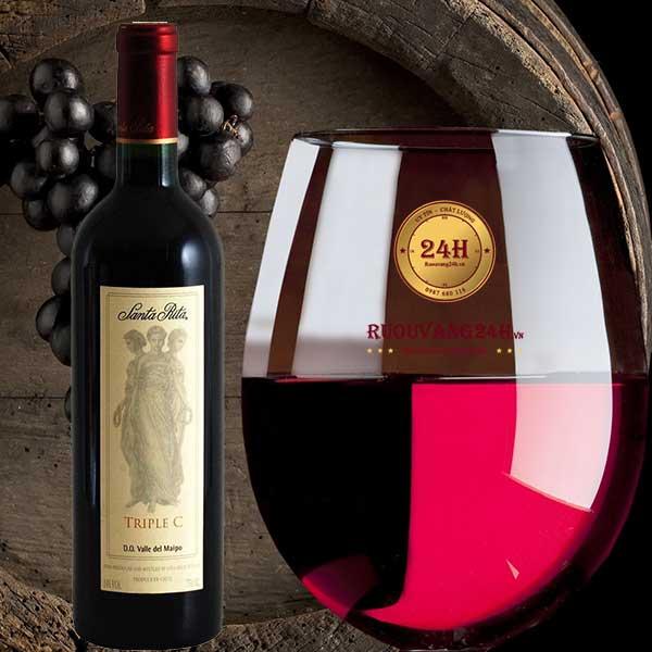 Rượu Vang Santa Rita Triple C