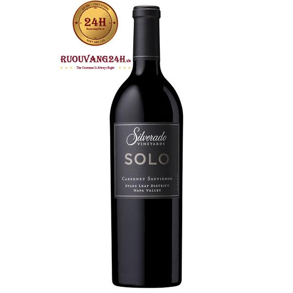 Rượu Vang Silverado SOLO Cabernet Sauvignon