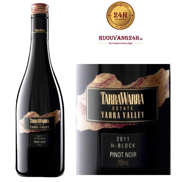 Rượu Vang TarraWarra Single Vineyard H-Block Pinot Noir