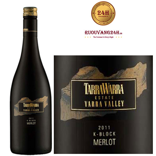 Rượu Vang TarraWarra Single Vineyard K-Block Merlot