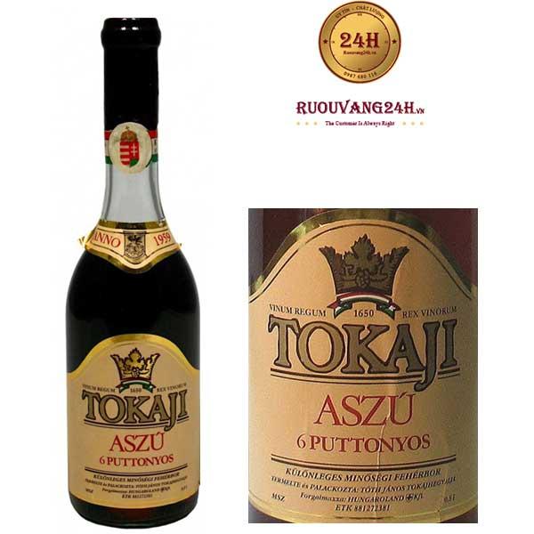 Rượu Vang Ngọt Tokaji Aszu 6 Puttonyos