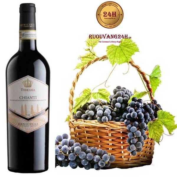 Rượu Vang Trecciaia Chianti