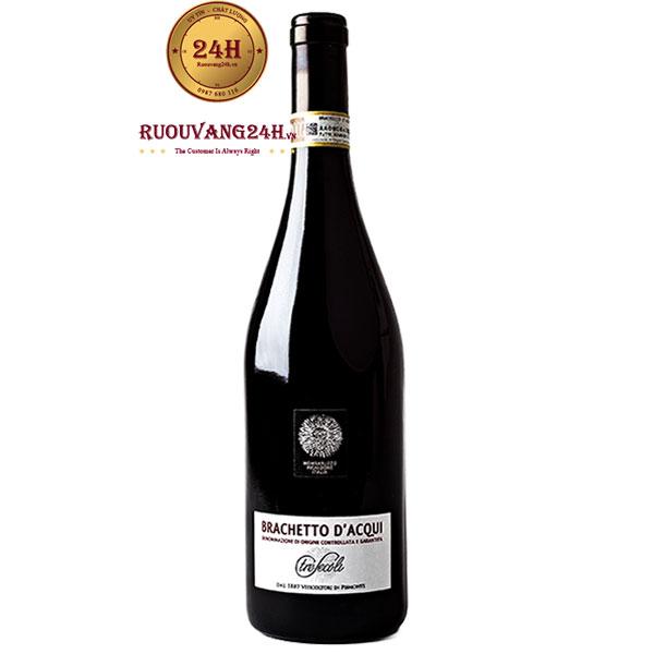 Rượu Vang Tresecoli Brachetto D'Acqui