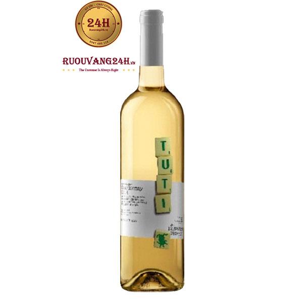 Rượu Vang Tuti Chardonnay