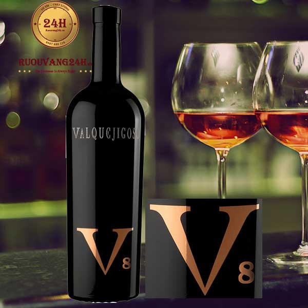 Rượu Vang V8 Valquejigoso