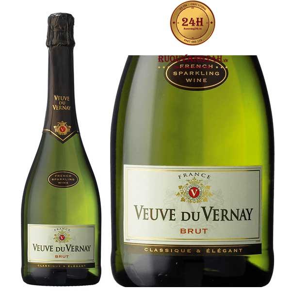 Rượu Champagne Veuve Du Vernay Chardonnay