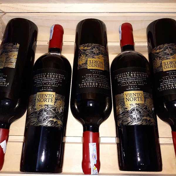 Rượu Vang Viento Norte Reserve Cabernet Sauvignon