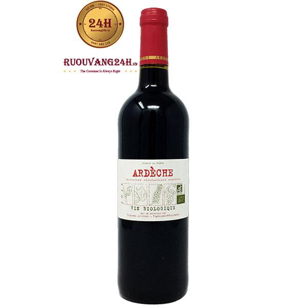 Rượu Vang Vignerons Ardechois Biologique