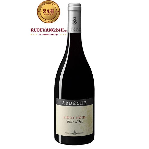 Rượu Vang Vignerons Ardechois Les Buis d'Aps Pinot Noir