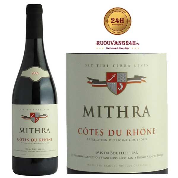 Rượu Vang Mithra Cote Du Rhone