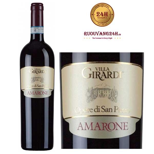 Rượu Vang Villa Girardi Amarone Opere di San Pietro