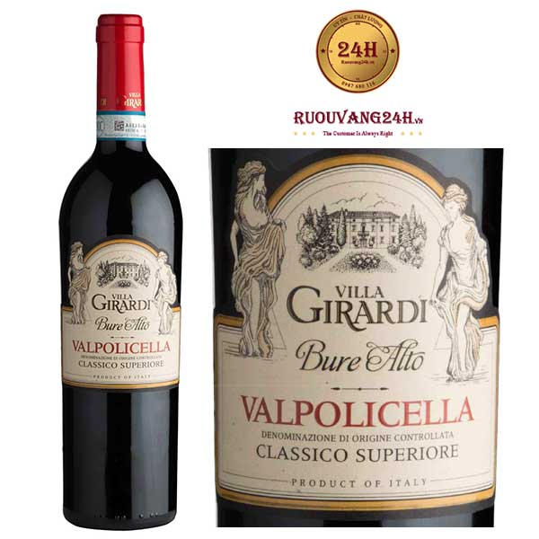 Rượu Vang Villa Girardi Ripasso Buro Alto