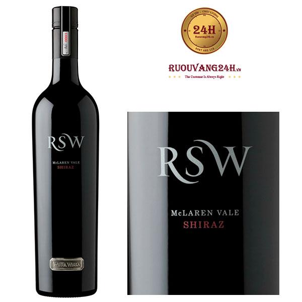 Rượu Vang Wirra Wirra RSW Shiraz