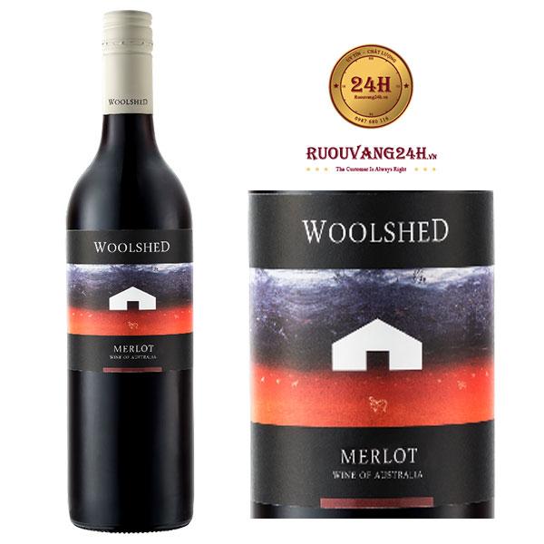 Rượu Vang Woolshed Merlot