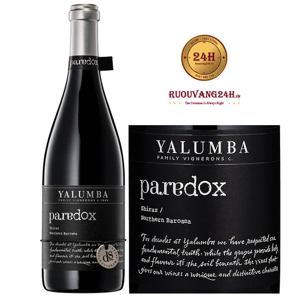 Rượu Vang Yalumba Paradox Shiraz