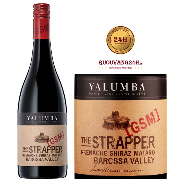 Rượu Vang Yalumba The Strapper GSM