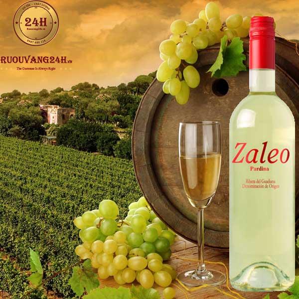 Rượu Vang Zaleo Pardina White Dry