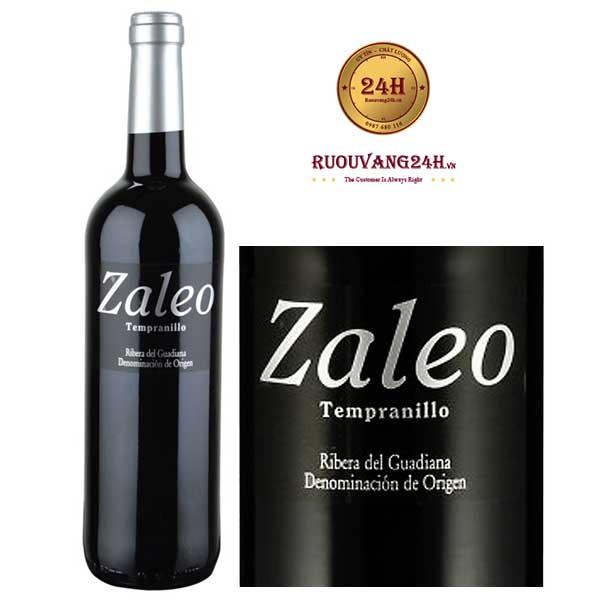 Rượu Vang Zaleo Tempranillo