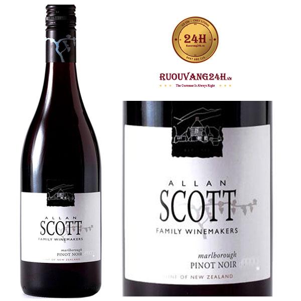 Rượu vang Allan Scott - Pinot Noir