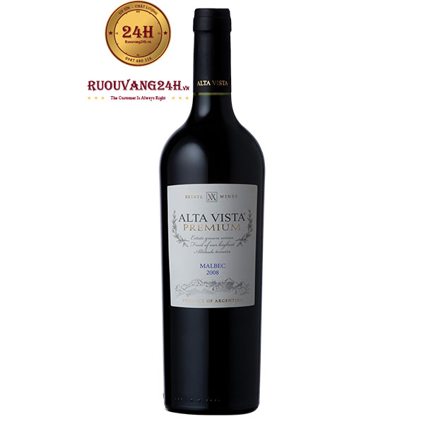 Rượu Vang Alta Vista Premium Malbec