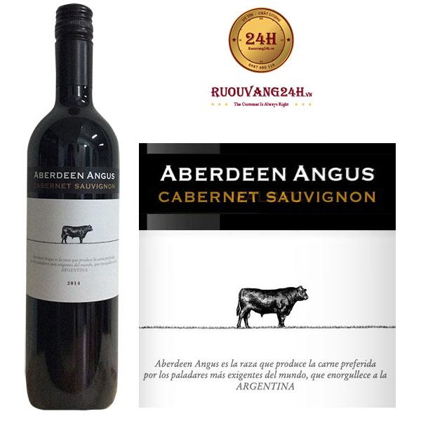 Rượu vang Angus Aberdeen Cabernet Sauvignon